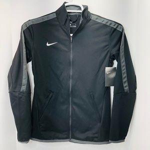 Nike Womans Black Training Zip-Up Jacket Size S
